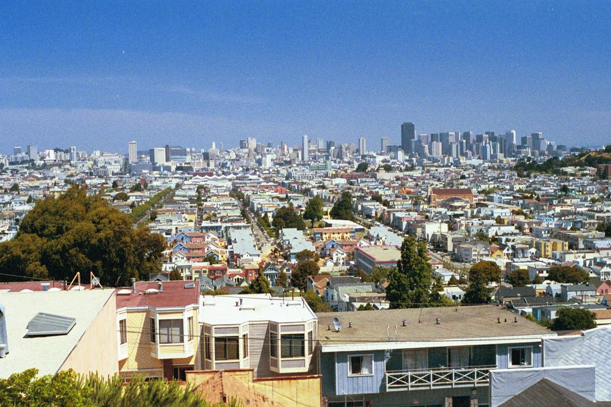 View of Mission District